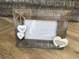 Shabby personalised Chic Photo Frame Auntie Aunty Great Aunt Gift  Present - 253402790453